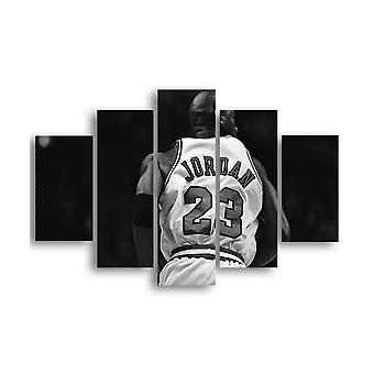 Biały obraz i czarny 5 kolor biały, czarny w MDF 19x0.3x40 cm, 19x0.3x50 cm, 19x0.3x60 cm