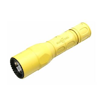 Surefire G2X Pro Yellow 320 Lumen Dual-Output LED Flashlight Nitrolon #G2X-D-YL