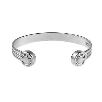 Monet Matt Magnetic Bangle (Grootte: Klein 130-150mm)