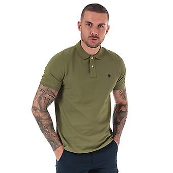 Men's Timberland Millers River Polo Shirt in Green