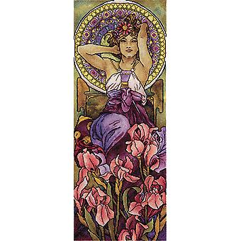 Panna Cross Stitch Kit : Amethyst