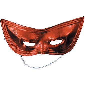 Masque Arlequin rouge boiteux pour adultes