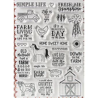 Echo Park Stamps -Down On The Farm