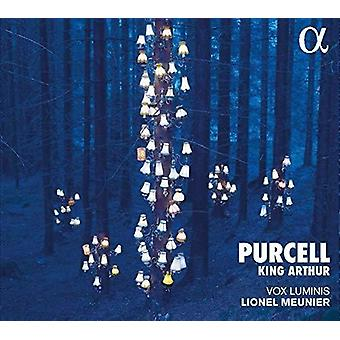 Purcell / Meunier - King Arthur [CD] USA import