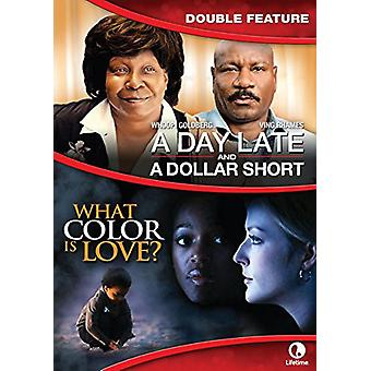 Day Late & a Dollar Short / What Color Is Love [DVD] USA import