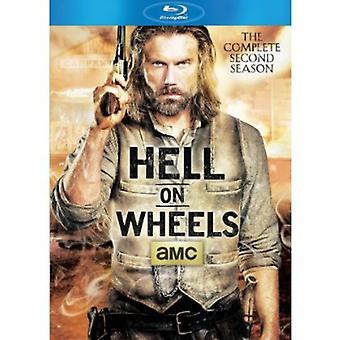 Hell on Wheels - Hell on Wheels: Season 2 [BLU-RAY] USA import