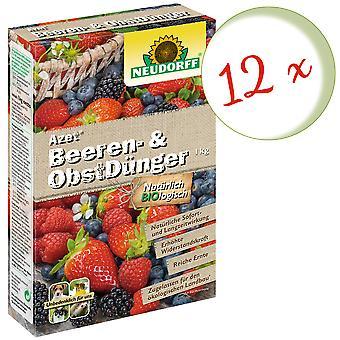 Sparset: 12 x NEWDORFF Azet® ягодные и фруктовые удобрения, 1 кг