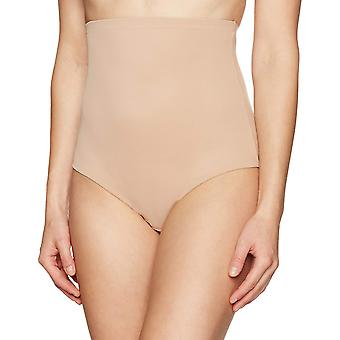 Arabella Women's Smoothing High-Waist Brief Shapewear with Tummy Control, Nud...