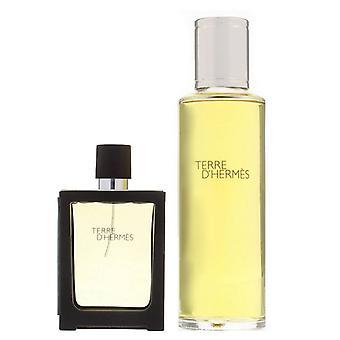 Hermes Terre D'Hermes Pure Parfüm 30ml + 125ml Nachfüllflasche