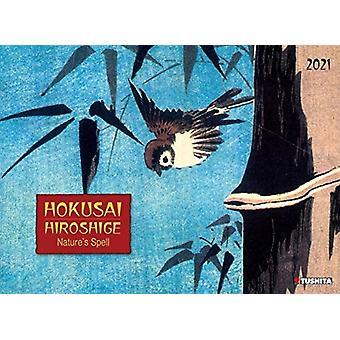 HOKUSAIHIROSHIGE NATURES SPELL 2021 by Utagawa Ando Hiroshige & Katsushika Hokusai