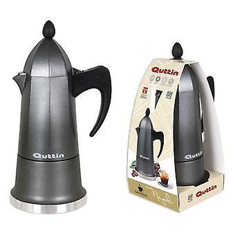 Coffee-maker Quttin Aluminium 9 cups