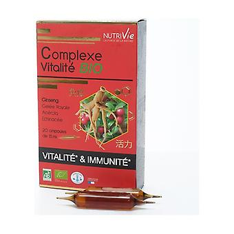 Ampoules - Organic Vitality Complex 20 units of 15ml