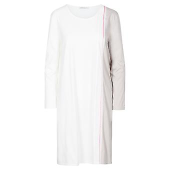 Féraud High Class 3201216-16800 Women's Ivory-Greige Cotton Nightdress