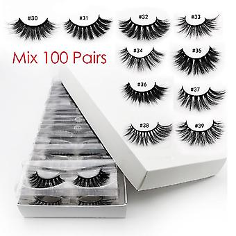 Wholesale Eyelashes 3d Mink Lashes Natural - Mink Eyelashes For Makeup ,thick