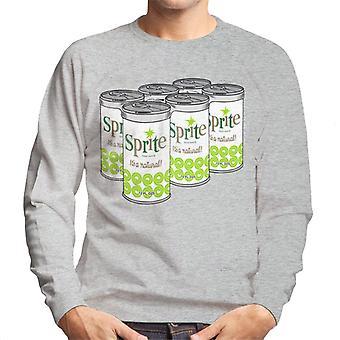 Retro Sprite Cans 1960er-Jahren Logo Men es Sweatshirt
