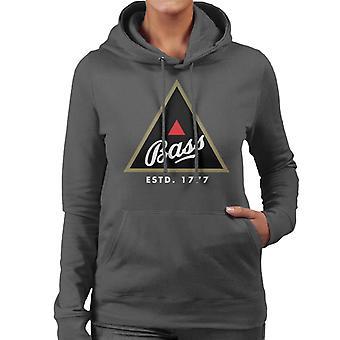 Bass Black Triangle Women's Hooded Sweatshirt