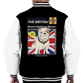 Haynes Selittää British Bulldog Workshop Manual Men's Varsity Takki