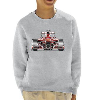 Motorsport kuvia Ferrari F138 Front View Kid ' s pusero