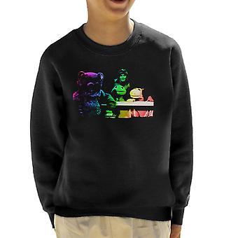 TV keer Rainbow Cast 1975 Kid's Sweatshirt