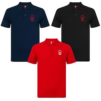 Nottingham Forest FC Official Football Gift Boys Crest Polo Shirt