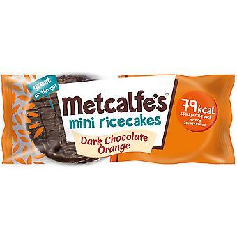 Metcalfe's Dark Chocolate Orange Mini Rice Cakes