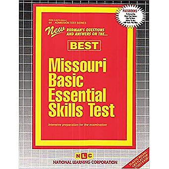 MISSOURI BASIC ESSENTIAL SKILLS TEST (BEST): Passbooks Study Guide