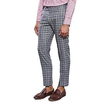 Checked grey trousers | wessi