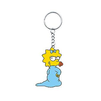PVC Figural Key Chain - Simpsons - Maggie Figure Gifts Toys New 27739