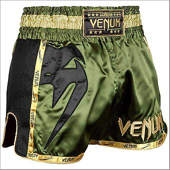 VENUM Giant Muay Thai shorts khaki/sort