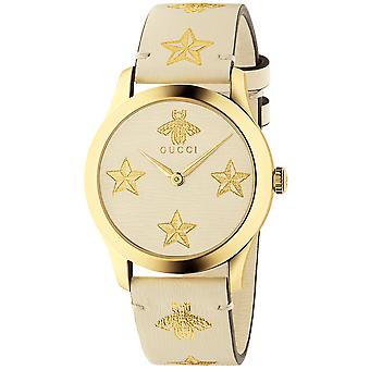 Gucci YA1264096 Quartz White Dial Ladies Watch