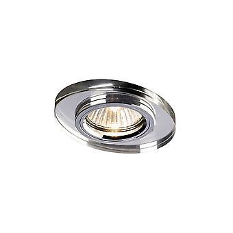 Encastré Downlight Oval RIM ONLY Clear, nécessite 100035310 pour compléter l'article
