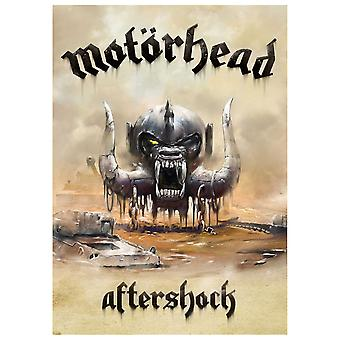 Motorhead Poster Aftershock Warpig Official New Textile Flag 70cm x 106cm