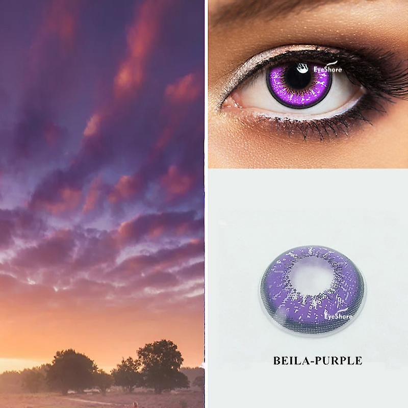 Cosplay Colored Contact Lens Cosmetic Contacts Lenses ...