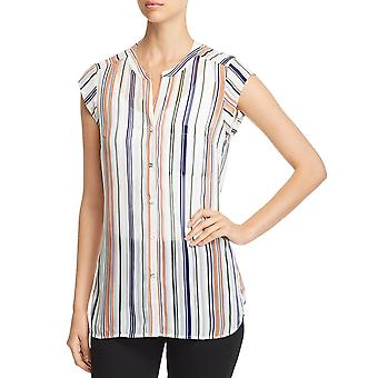 Daniel Rainn | Sheer Striped Button-Down Top