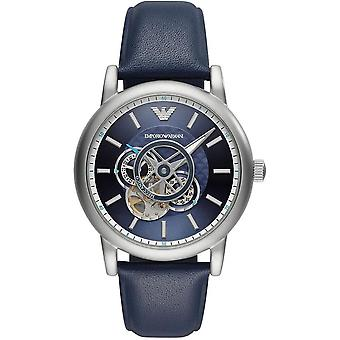 Emporio Armani AR60011 Chronograph Automatic Blue Dial Men's Watch