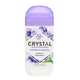 Crystal Body Deodorant Crystal Natural Deodorant Stick, Lavender & White Tea 2.5 Oz