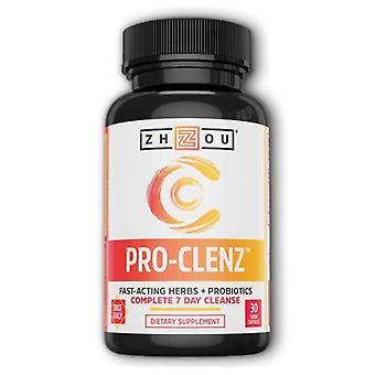 Zhou Nutrition Pro-Clenz, 30 Veg Caps