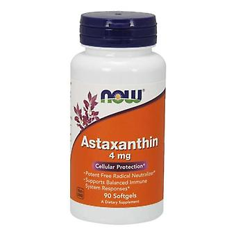 Now Foods Astaxanthin, 4 mg, 90 Softgels