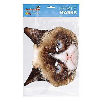 maske-arade gretten katt fest ansiktsmaske