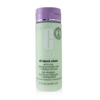 All About Clean All-in-one Cleansing Micellar Milk + Makeup Remover - Very Dry To Dry Combination - 200ml/6.7oz