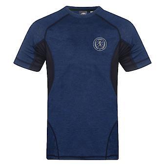 Scotland Mens T-Shirt Poly Tech Training Kit OFFICIAL Football Gift