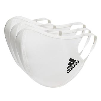 adidas Masque facial Protection Protection Blanc M/L (3 Pack)