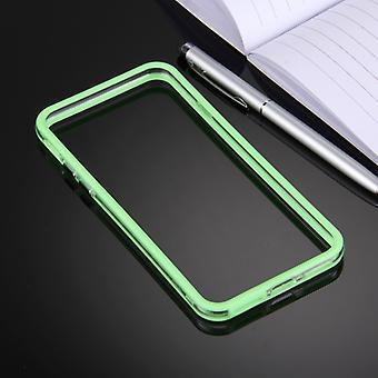 For  iPhone 8 & 7  TPU + PC Combination Bumper Frame(Green)