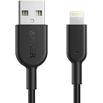 Câble d'iphone d'Anker, câble de foudre de ligne électrique ii (3ft), probablement le câble le plus durable du monde,mfi