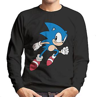 Sonic The Hedgehog Run Faster Men's Sweatshirt