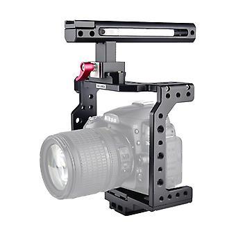 YELANGU C8 YLG0910 Kahva Videokamera Häkin stabilointiaine (musta)