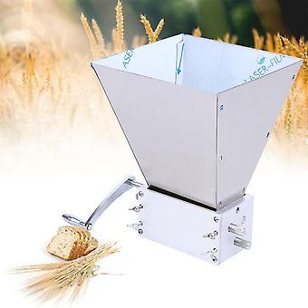 Yonntech Stainless 3-roller Barley Malt Mill Grain Grinder