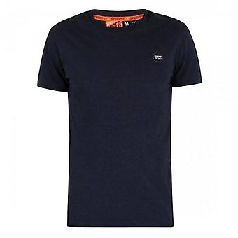 Superdry Collective Logo T-Shirt Navy ADQ