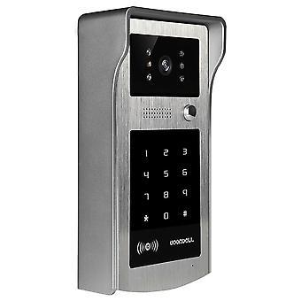Ir Rfid رمز لوحة المفاتيح كاميرا ل 4 سلك كابل فيديو باب جرس الباب