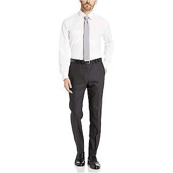 Brand - BUTTONED DOWN Men's Slim Fit Stretch Knit Dress Shirt, Supima ...
